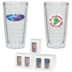 Custom imprinted 16 Oz. Tritan Double Wall Tumbler