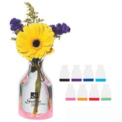 Custom imprinted Mini Foldable Vase