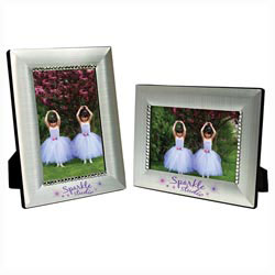 Custom imprinted 4 x 6 Jeweled Frame