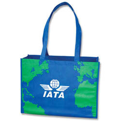 Custom imprinted Earth Tote Bag