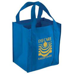 Custom imprinted Grocery Non-Woven Tote Bag - SAME DAY RUSH
