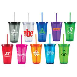 Custom imprinted 16 oz. Freedom Tumbler
