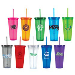 Custom imprinted 22 oz. Freedom Tumbler