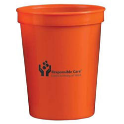 Custom imprinted Nantucket Polypropylene Stadium Cup 17oz