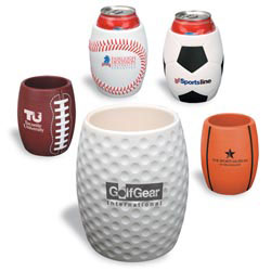 Custom imprinted Golf Can Holder