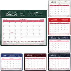 Custom imprinted Calendar Doodle Pad w/o Grommet or Greeting Page