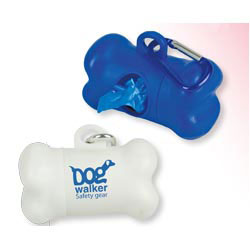 Custom imprinted Dog Pickup Bag Dispenser