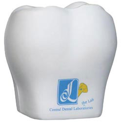 Custom imprinted Tooth Stress Reliever