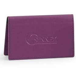 Custom imprinted CLOSEOUT SoHo Business Card Holder