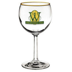 Custom imprinted 8.5 oz. Napa Country Red Wine Glass