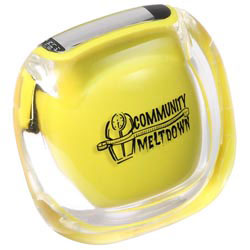 Custom imprinted Clearview Pedometer
