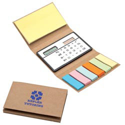 Custom imprinted Flags & Calculator Booklet