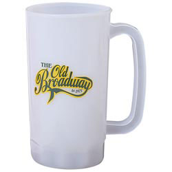 Custom imprinted 34 oz. Mug