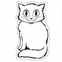 Custom imprinted Cat Magnet