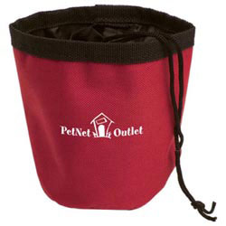 Custom imprinted Perky Pet Treat Container