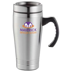 Custom imprinted Everest Travel Mug