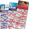 Baseball Schedule Business Card Magnet