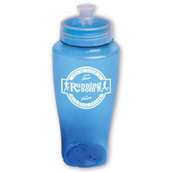 Custom imprinted Polysure Twister Bottle
