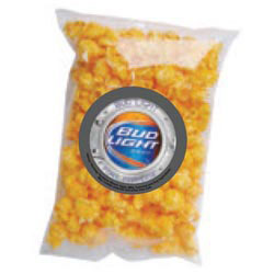 Custom imprinted Gourmet Cheese/Butter Popcorn Single