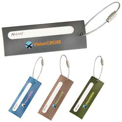 Custom imprinted Astro Luggage Tag