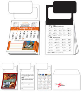 Custom imprinted MBC Real Estate Calendar with Cover - Oct Start