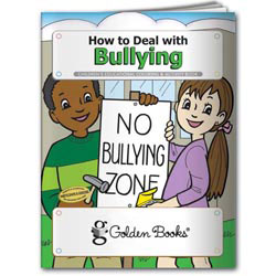 Custom imprinted Coloring Book: How to Deal with Bullying