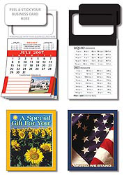 Custom imprinted MBC Real Estate Calendar with Cover - July Start