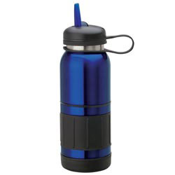 Custom imprinted 34 oz. Steel Water Bottle