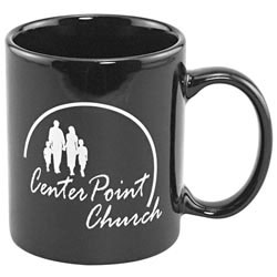 Custom imprinted 11oz Ceramic Mug