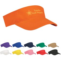 Custom imprinted Budget Saver Non-Woven Visor