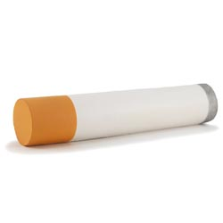 Custom imprinted Cigarette Stress Reliever
