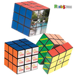 Custom imprinted Rubik's 9-Panel Full Stock Cube