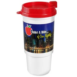 Custom imprinted Digital 16 oz Auto Cup