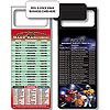 Magnetic NFL Football Schedule San Francisco 49ers