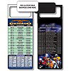 Magnetic NFL Football Schedule - Chicago Bears