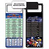 Magnetic NFL Football Schedule - Buffalo Bills