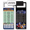 Magnetic NFL Football Schedule - Denver Broncos