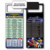 Magnetic NFL Football Schedule San Diego Chargers