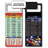 Magnetic NFL Football Schedule Kansas City Chiefs