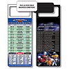 Magnetic NFL Football Schedule Indianapolis Colts