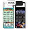 Magnetic NFL Football Schedule - Miami Dolphins
