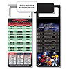 Magnetic NFL Football Schedule - Atlanta Falcons