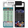 Magnetic NFL Football Schedule Jacksonville Jaguar