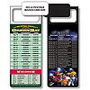 Magnetic NFL Football Schedule Green Bay Packers